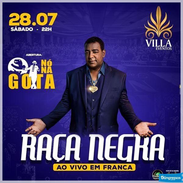 Raça Negra - Via Brasil - 28/07/18 - Franca - SP