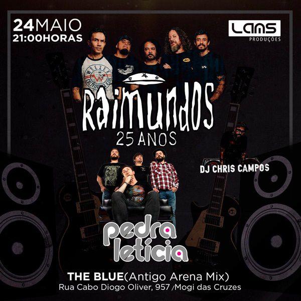 Raimundos e Pedra Letícia - The Blue - 24/05/19 - Mogi das Cruzes - SP