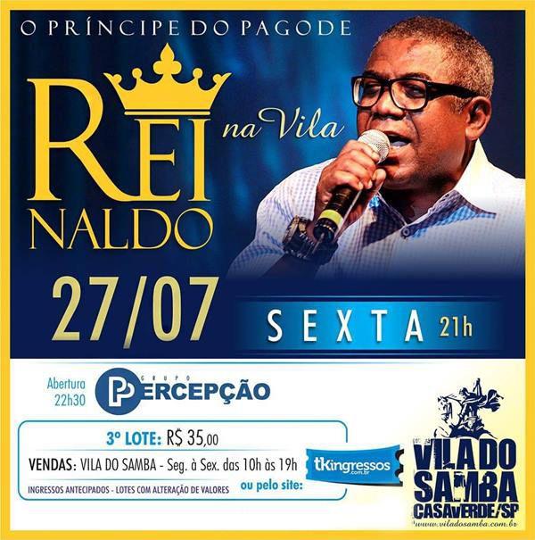 Reinaldo - 27/07/18 - São Paulo - SP