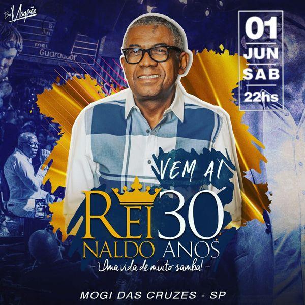Reinaldo 30 Anos - 01/06/19 - Mogi das Cruzes - SP
