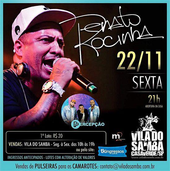 Renato da Rocinha - Vila do Samba - 22/11/19 - São Paulo - SP