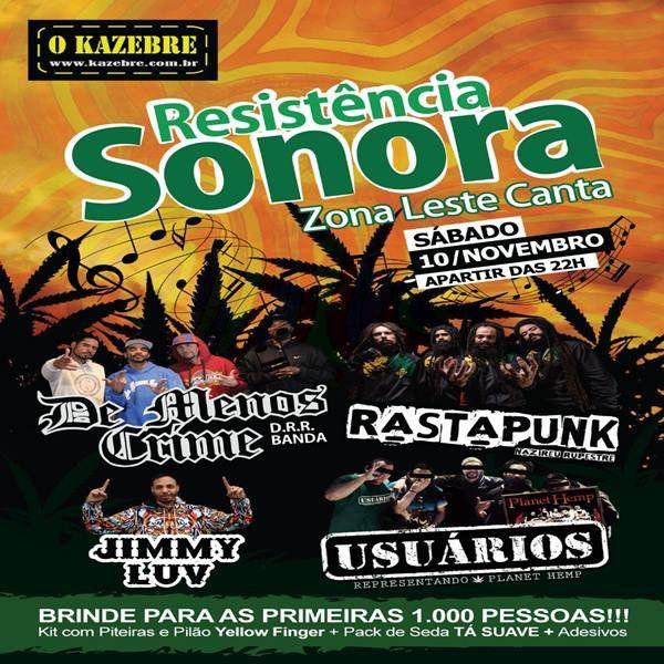 Resistência Sonora no Kazebre - 10/11/18 - São Paulo - SP