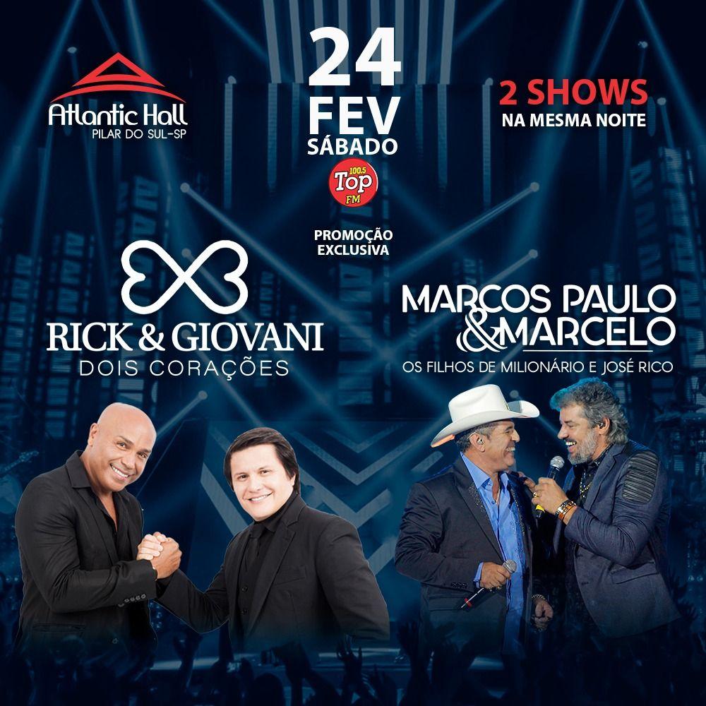 Rick & Giovani - 24/02/18 - Pilar do Sul - SP