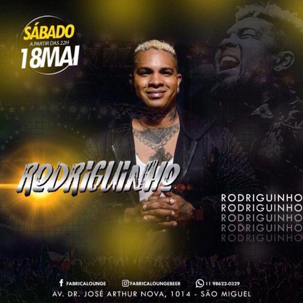 Rodriguinho - Fabrica Lounge - 18/05/19 - São Paulo - SP