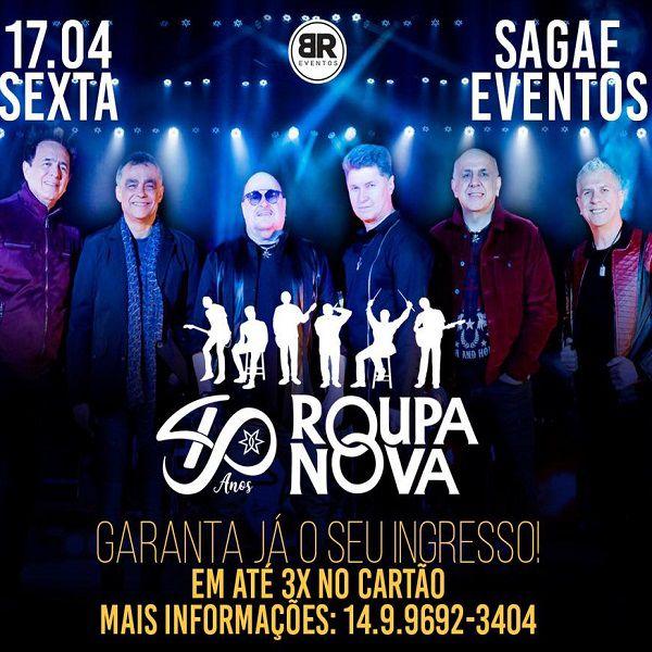 Roupa Nova - 17/04/20 - Bauru - SP