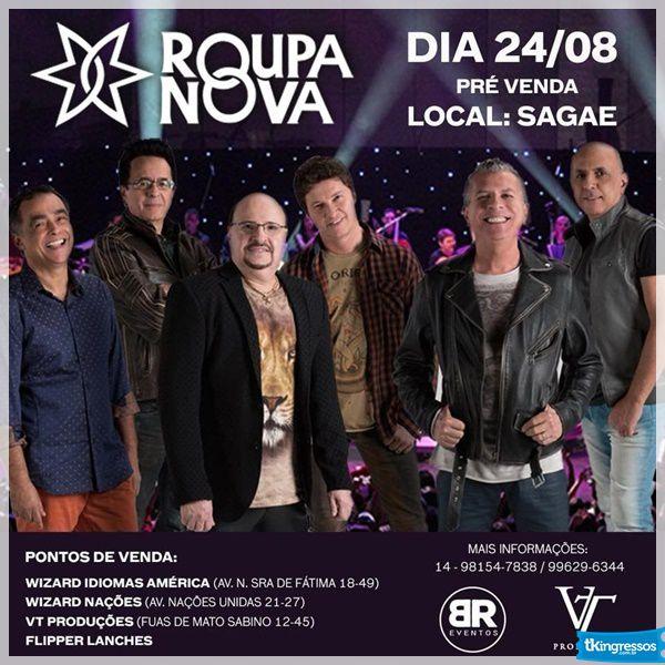 Roupa Nova - 24/08/18 - Bauru - SP