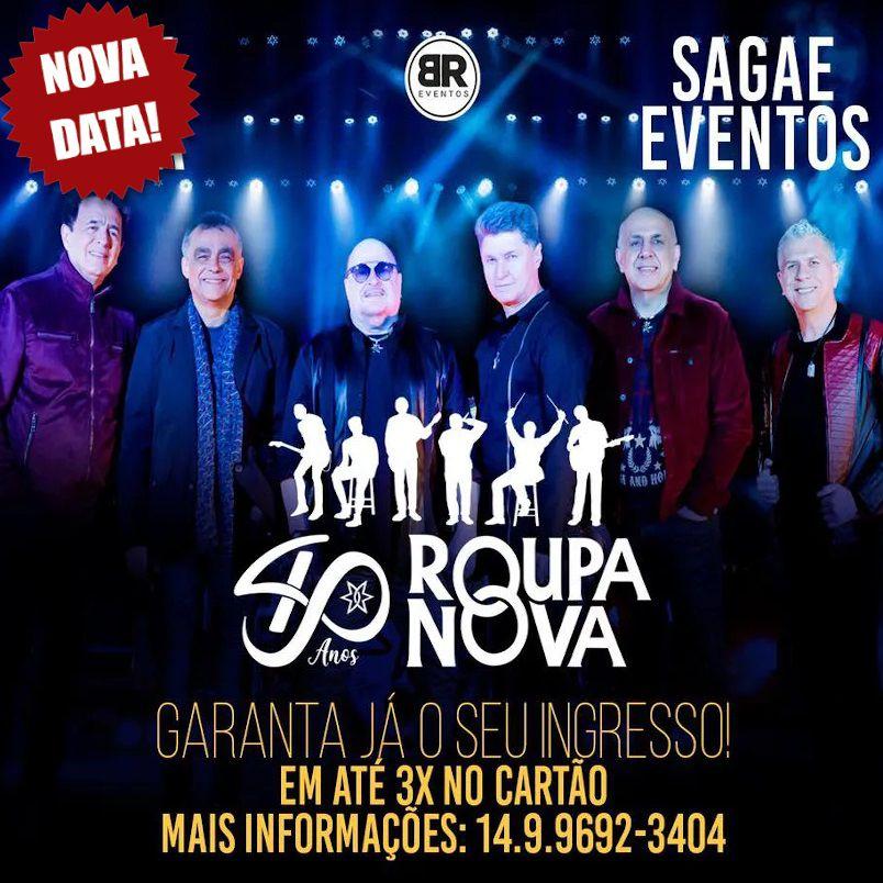 Roupa Nova - 25/09/20 - Bauru - SP
