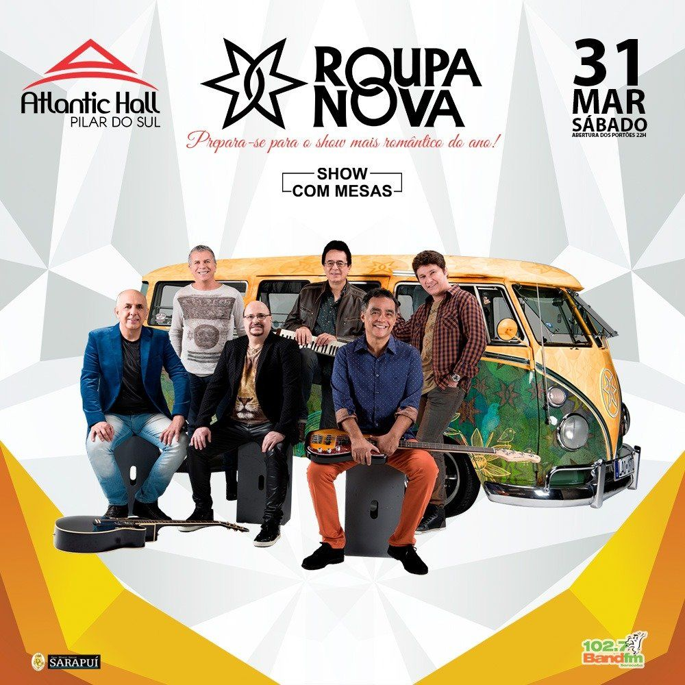 Roupa Nova - Atlantic Hall - 31/03/18 - Pilar do Sul - SP