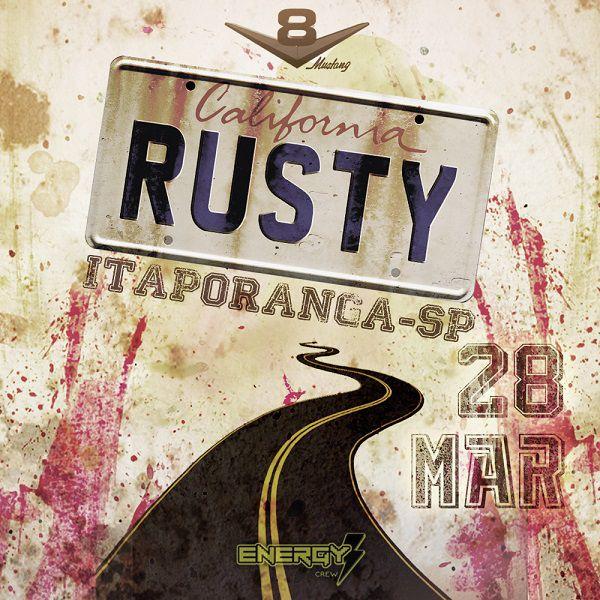 Rusty - V8 Mustang - 28/03/20 - Itaporanga - SP