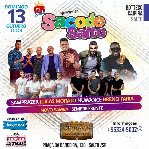 Sacode Salto - 13/10/19 - Salto - SP