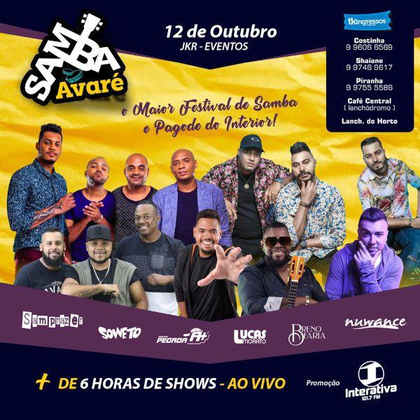 Samba Avaré - 12/10/19 - Avaré - SP