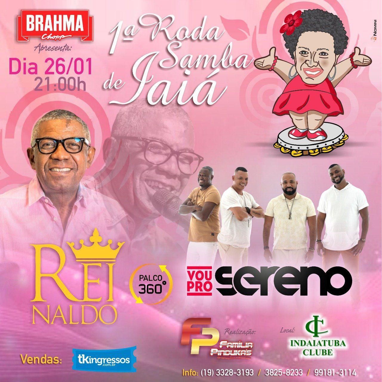 Samba de Iaiá - 26/01/19 - Indaiatuba - SP - TKINGRESSOS