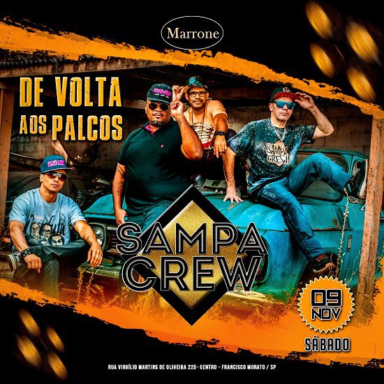 Sampa Crew - Marrone - 09/11/19 - Francisco Morato - SP