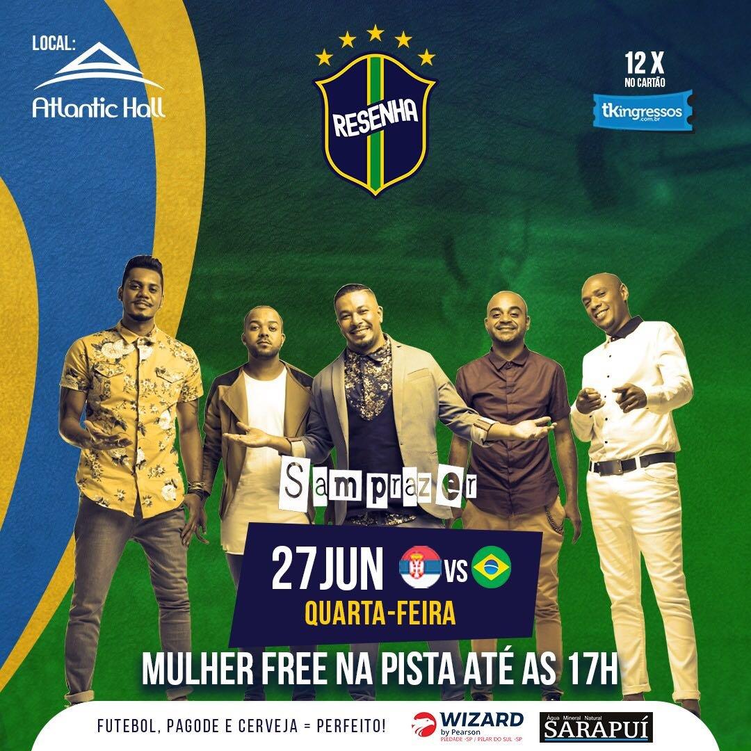 Samprazer - Atlantic Hall - 27/06/18 - Pilar do Sul - SP