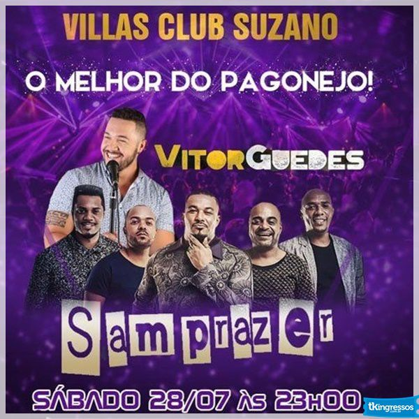 Samprazer - Villas Club - 28/07/18 - Suzano - SP