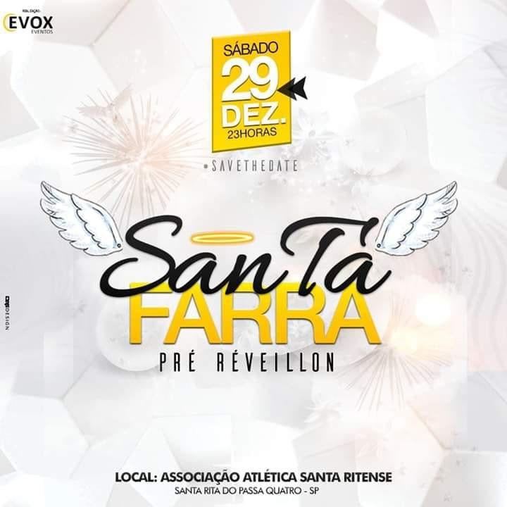 Santa Farra - 29/12/18 - Santa Rita do Passa Quatro - SP
