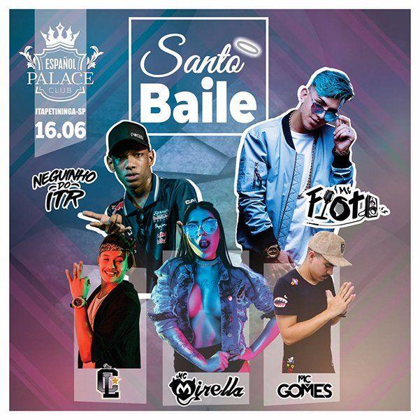 Santo Baile - 16/06/18 - Itapetininga - SP