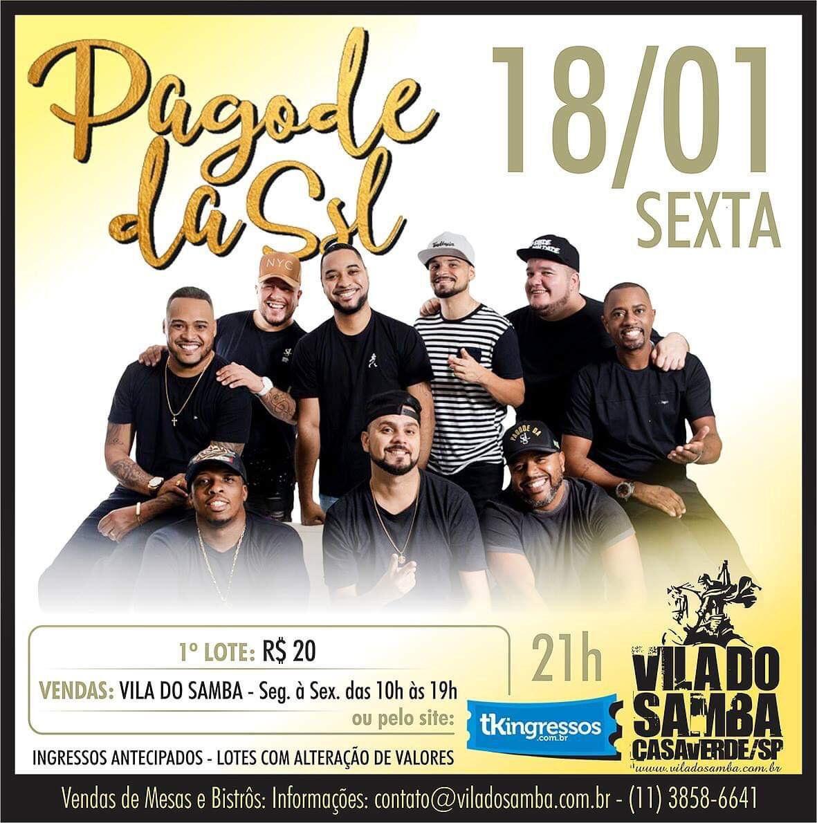 Segunda Sem Lei - Vila do Samba - 18/01/19 - São Paulo - SP