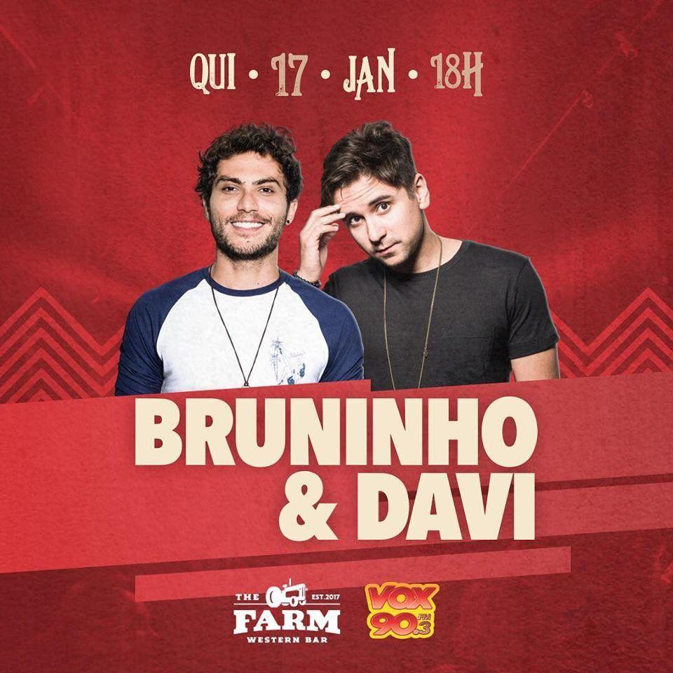Sertão The Farm - Bruninho & Davi - 17/01/19 - Americana - SP