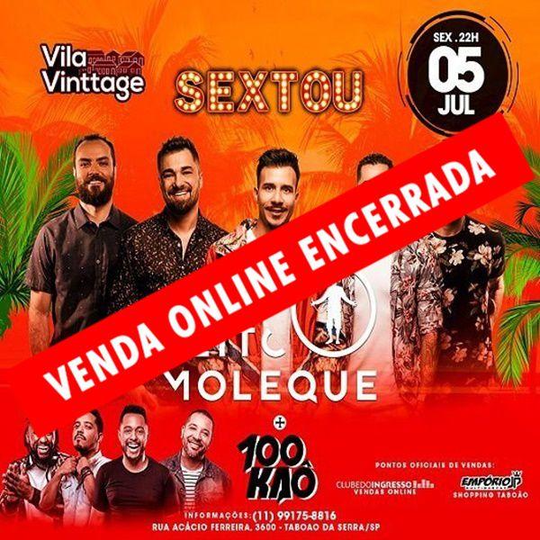 Sextou - Jeito Moleque - 05/07/19 - Taboão da Serra - SP