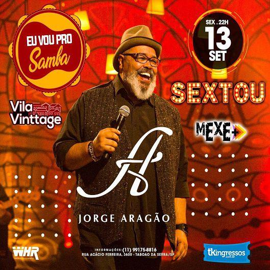 Sextou Jorge Aragão - Vila Vinttage - 13/09/19 - Taboão da Serra - SP