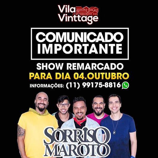 Compre aqui seu ingresso para Vila Vinttage | Baladas