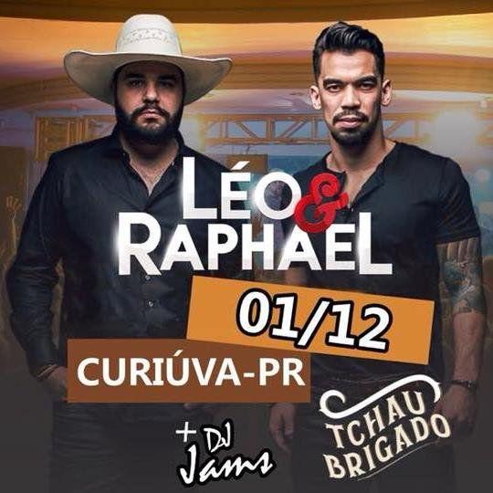 Show de Léo e Raphael +Dj Jams - 01/12/18 - Curiúva - PR