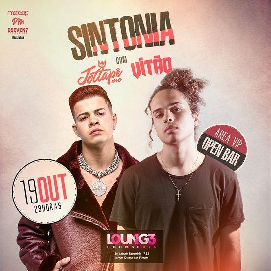 Sintonia com Vitão & Jottapê - MegaC - 19/10/19 - Santos - SP