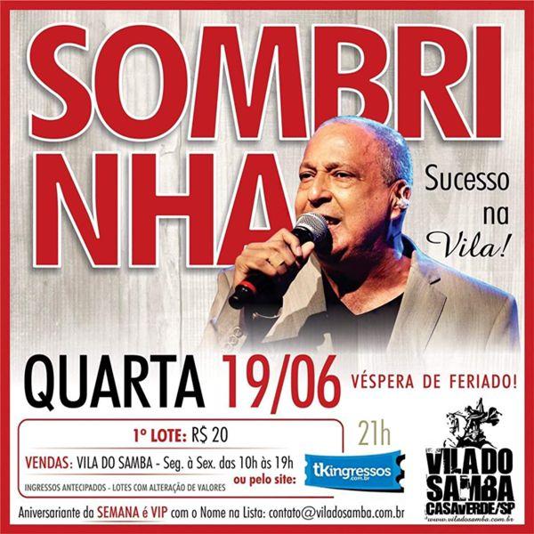 Sombrinha - Vila do Samba - 19/06/19 - São Paulo - SP