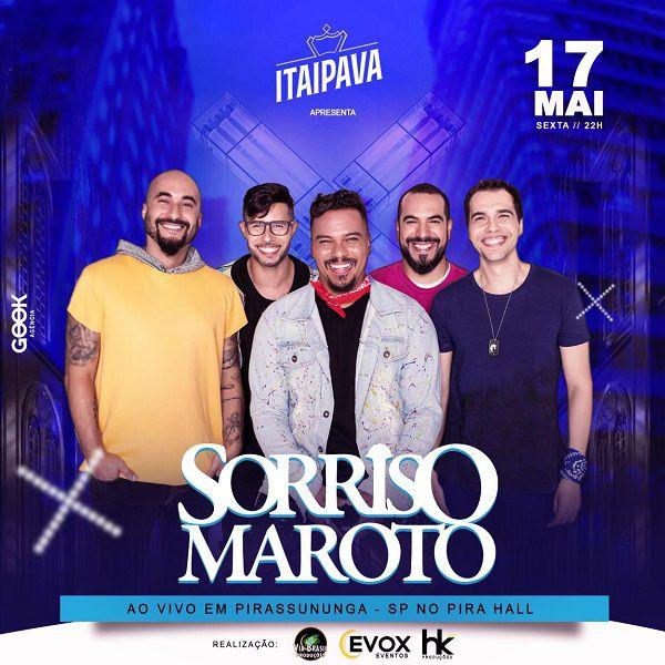 Sorriso Maroto - Via Brasil Produções - 17/05/19 - Pirassununga - SP