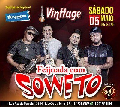 Soweto & Feijoada - 05/05/18 - Taboão da Serra - SP
