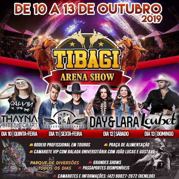 Tibagi Arena Show - 10 a 13/10/19 - Tibagi - PR