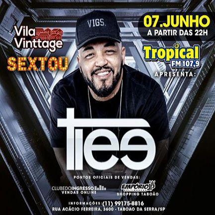 Tiee - Vila Vinttage - 07/06/19 - Taboão da Serra - SP