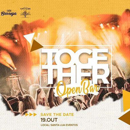 Together - Open Bar - Sinhô Barriga - 19/10/19 - Leme - SP