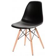 Cadeira Eames DSW wood Polipropileno