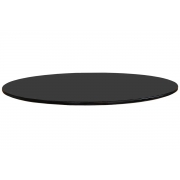 Tampo Coverglass 23mm Redondo para Mesa de Jantar - Vários Tamanhos