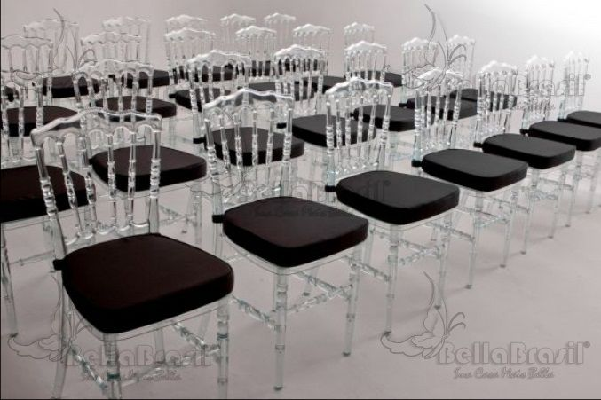 Cadeira em Resina Classic Dior Cristal