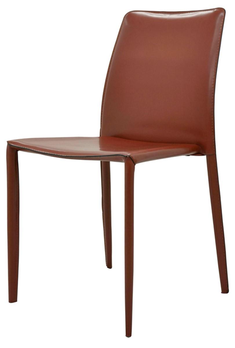 Cadeira Alana em couro ecológico