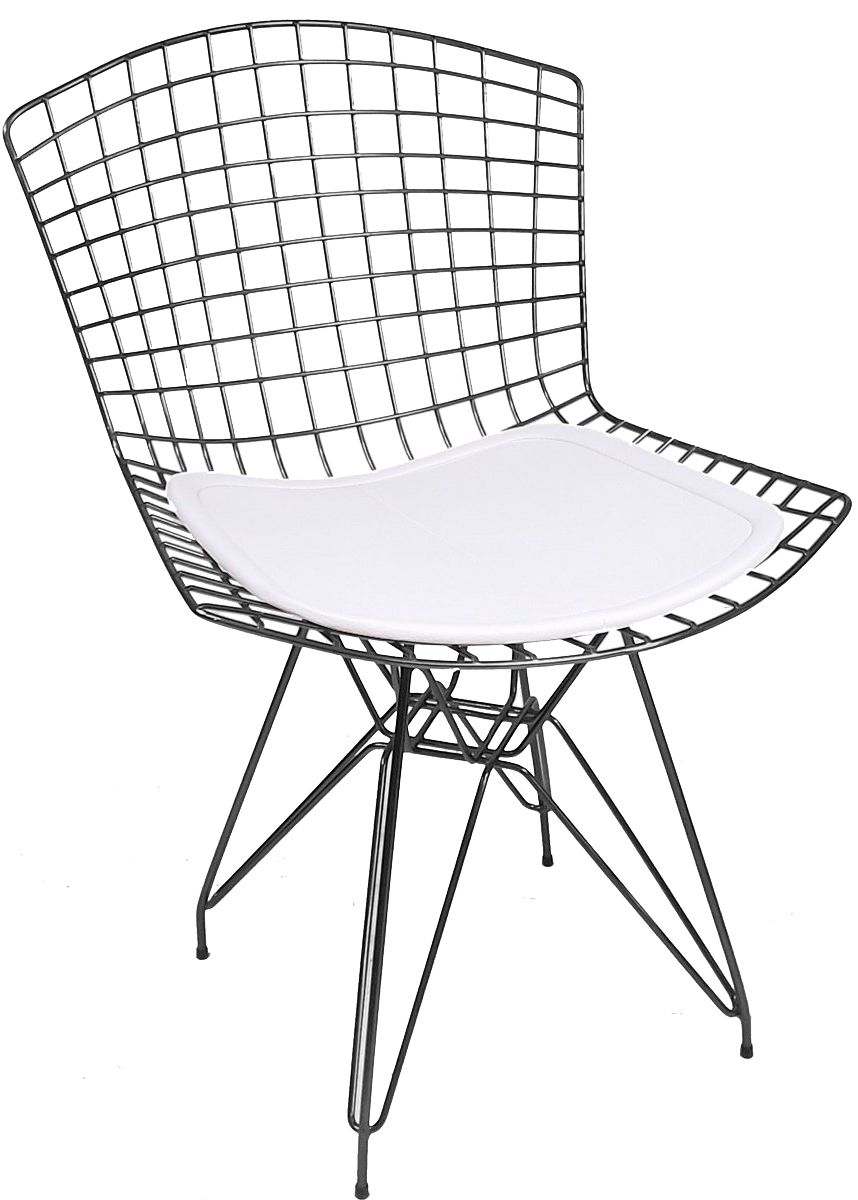 Cadeira Bertoia DKR com Assento - Aco Inox 304