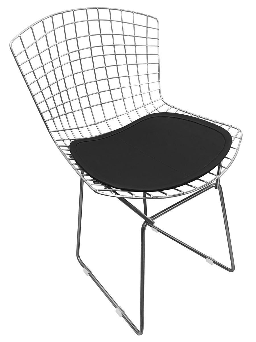 Cadeira Bertoia Tradicional Aco Inox 304 com Assento