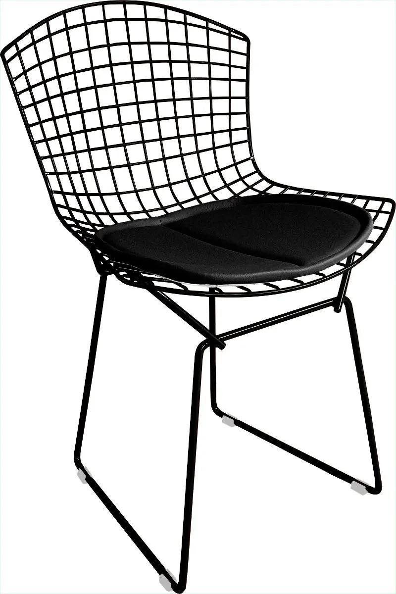 Cadeira Bertoia Tradicional Com Assento - Linha Color