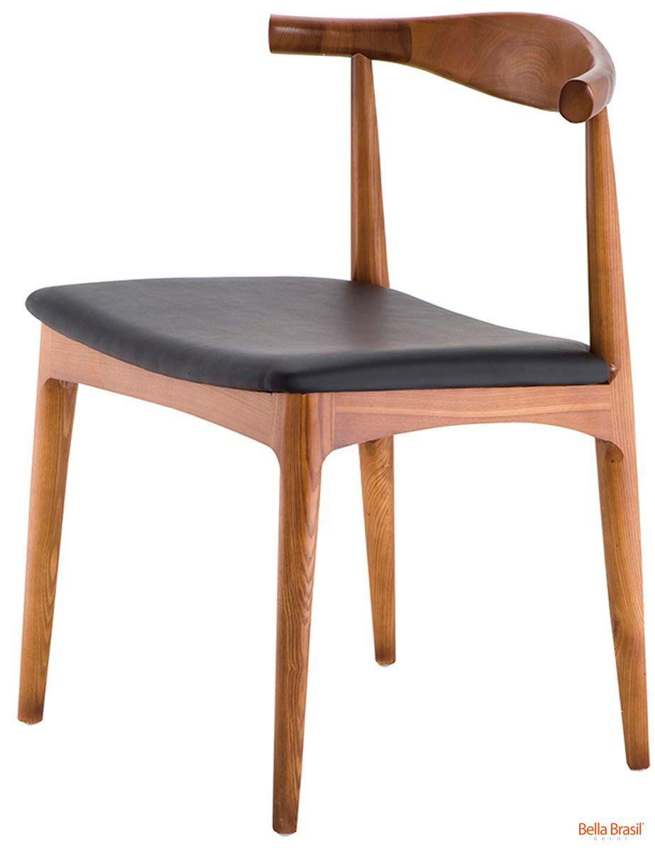 Cadeira Carina em madeira natural
