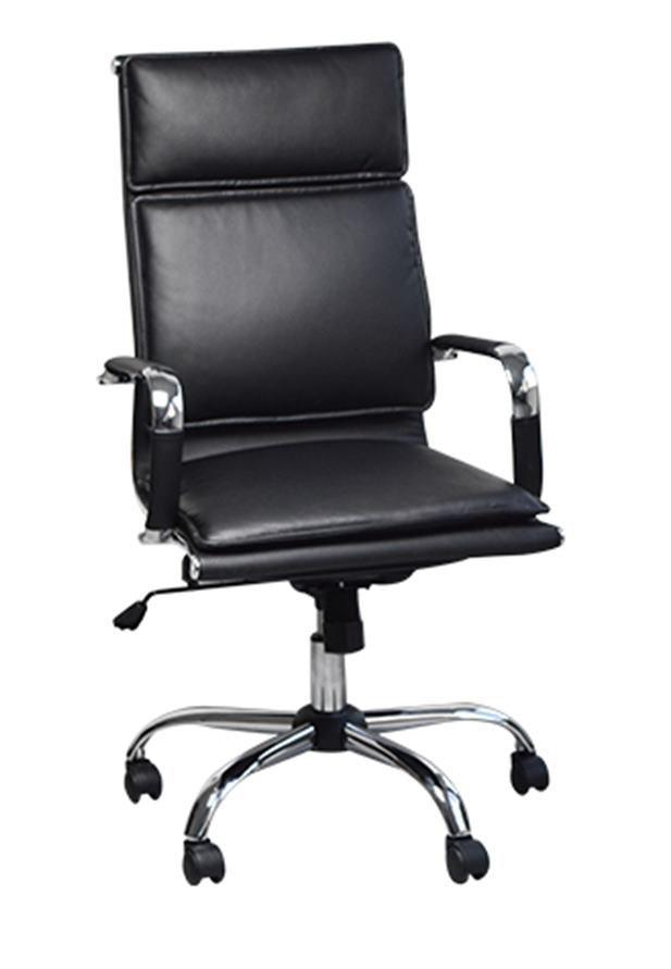 Cadeira Charles Eames Office Esteirinha Slim Soft Alta