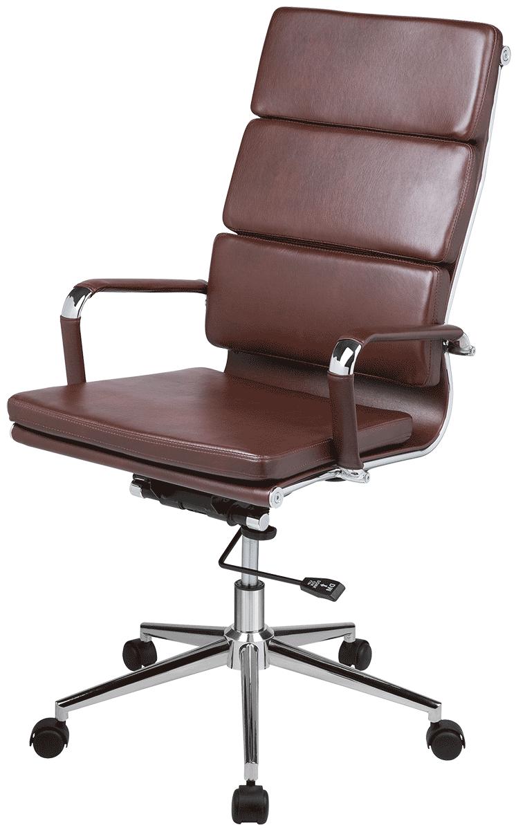 Cadeira Charles Eames Office Esteirinha Soft Thebas Alta