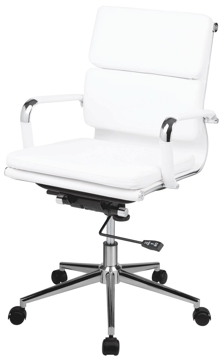 Cadeira Charles Eames Office Esteirinha Soft Thebas Baixa