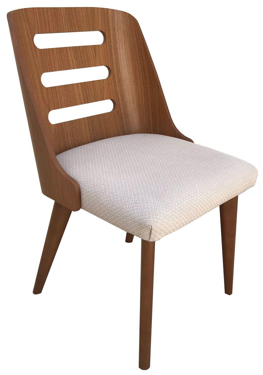 Cadeira Couvin Freijó com Assento Estofado