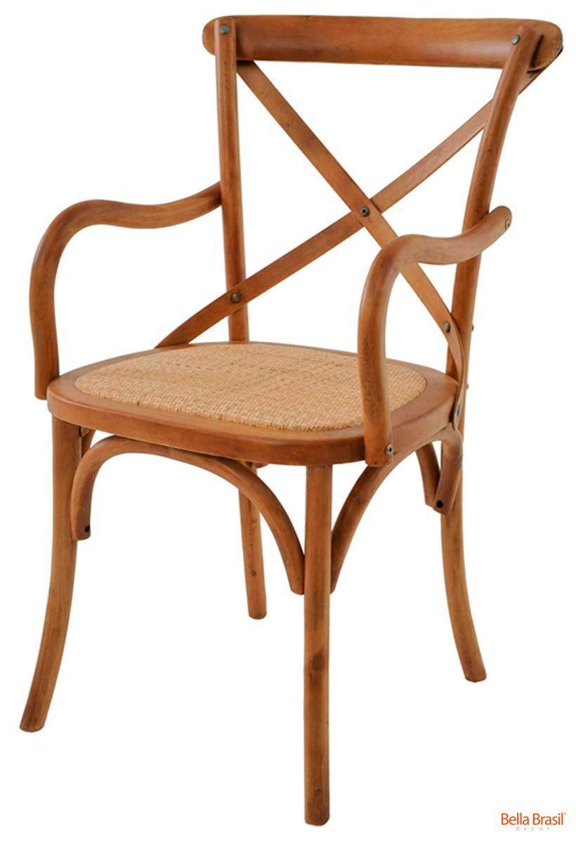 Cadeira Cross Katrina com braços