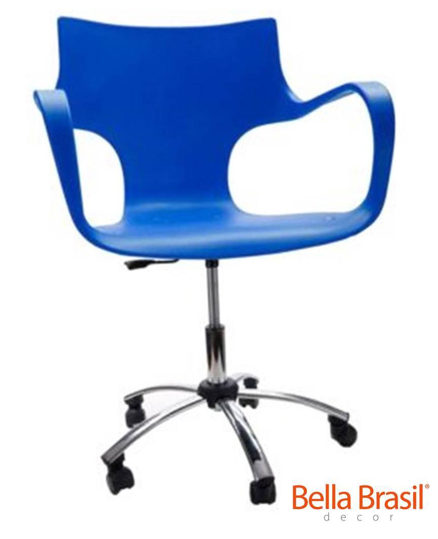 Cadeira Daniela em Polipropileno Rodízio