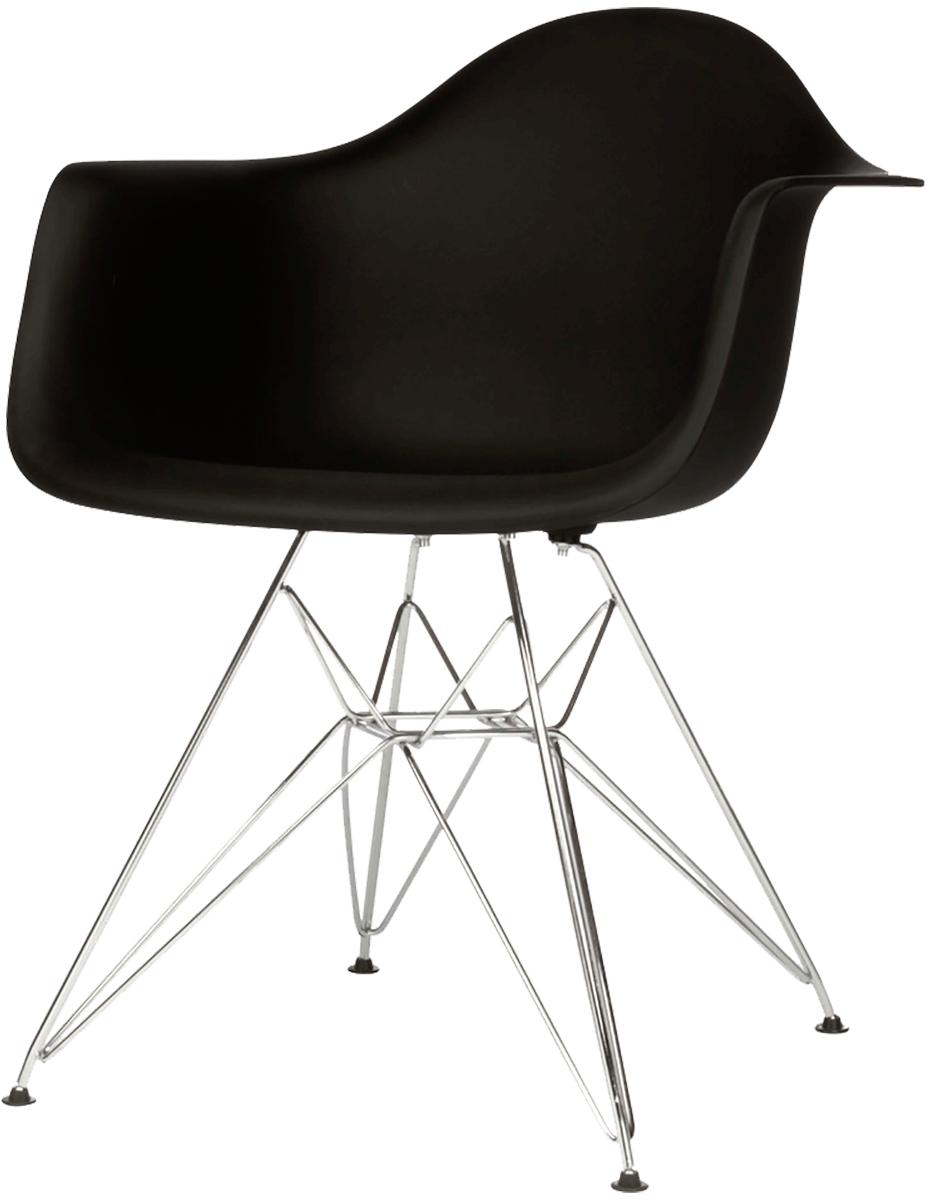 Cadeira DAR Preta - Pequeno Defeitos + Almofada Brinde