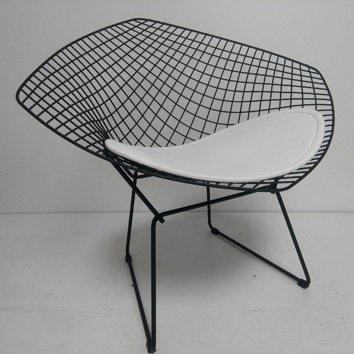 Cadeira Diamante Preta Fosca